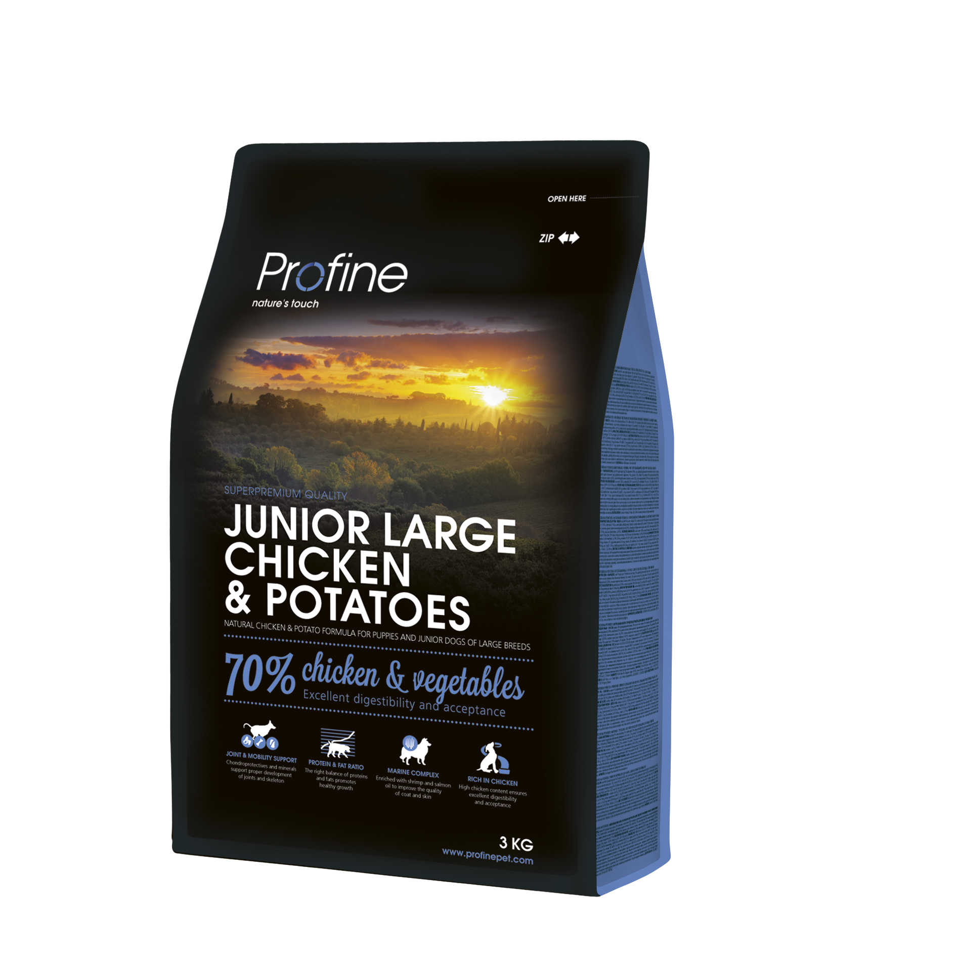 Profine Junior Large Breed Chicken & Potatoes 3kg