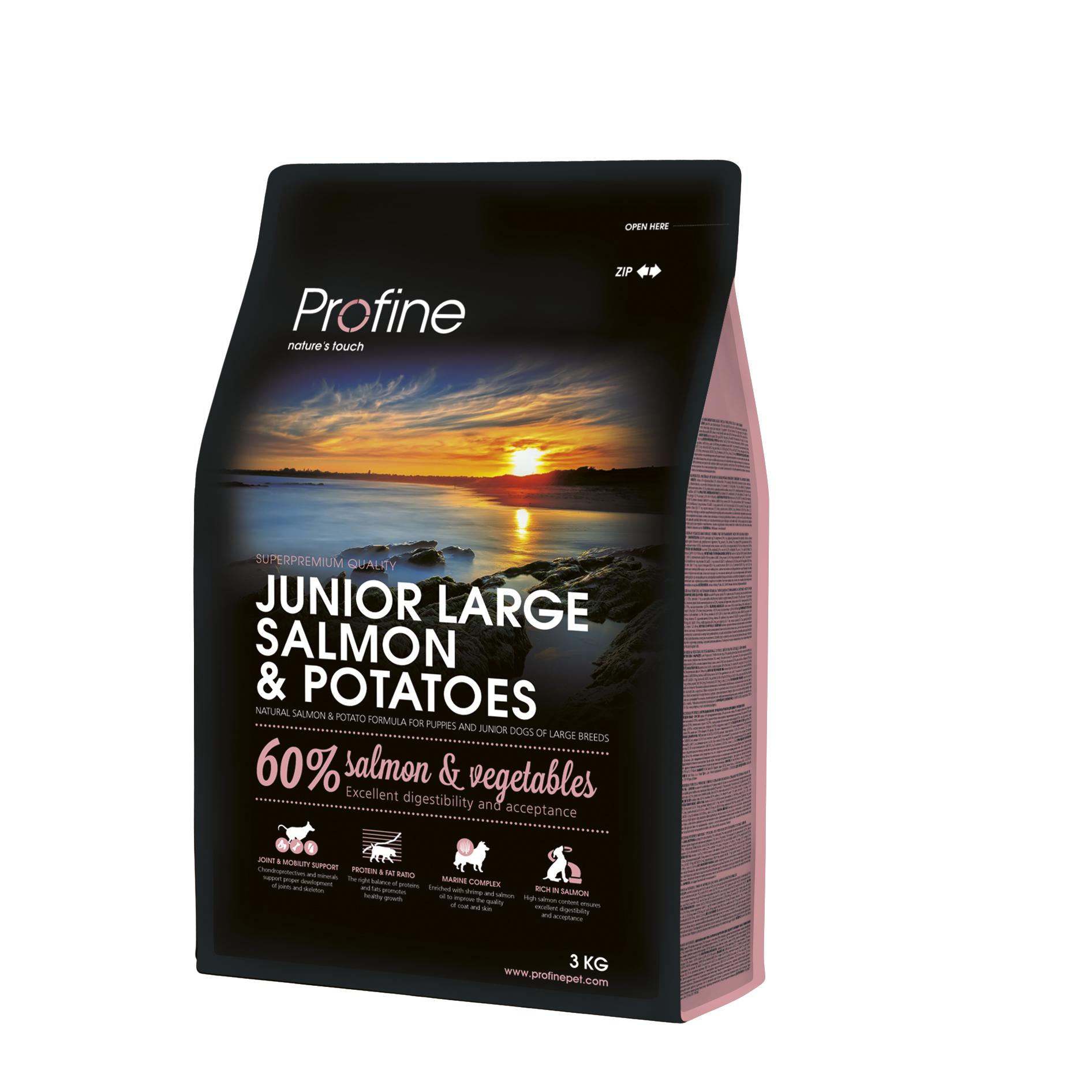Profine Junior Large Breed Salmon & Potatoes 3kg