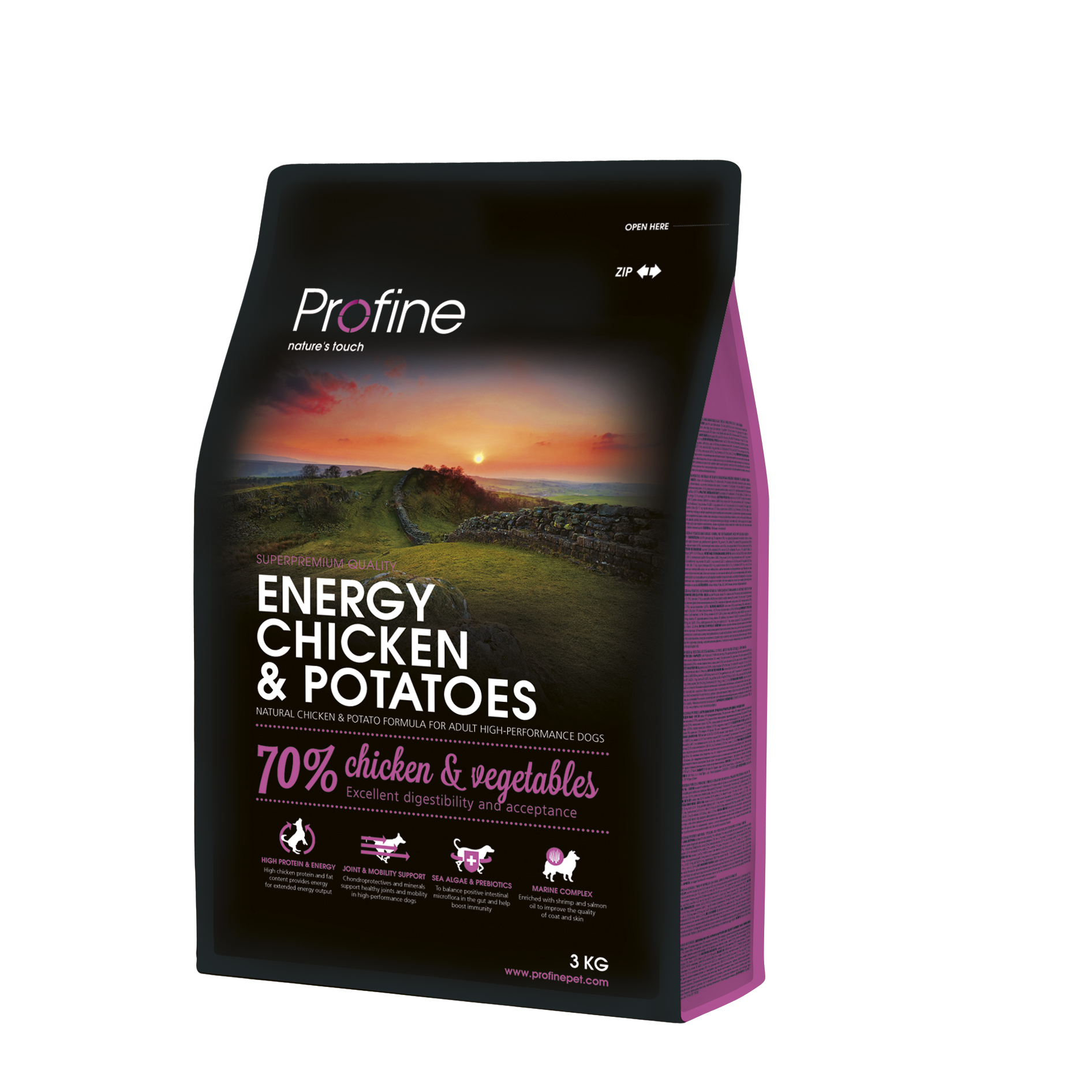 Profine Energy Chicken & Potatoes 3kg