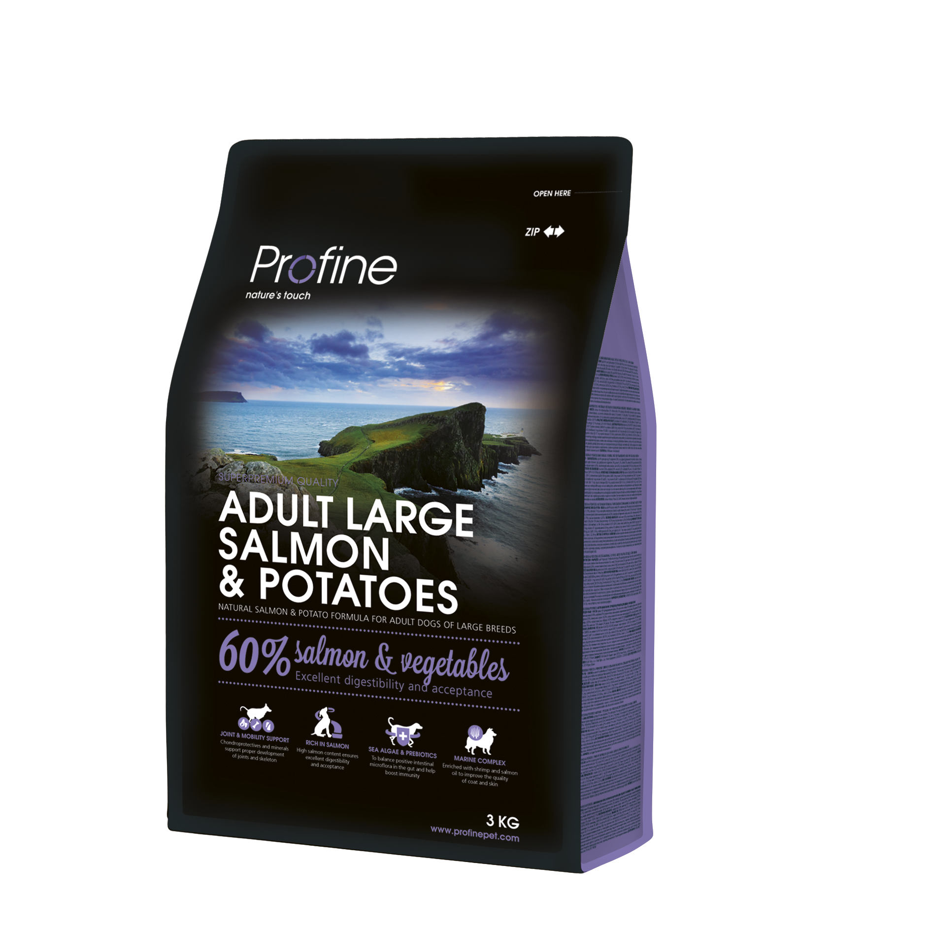 Profine Adult Large Breed Salmon & Potatoes 3kg